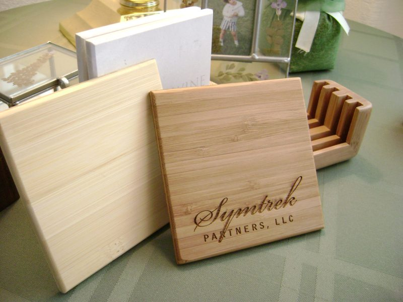 Eco Bamboo Coasters